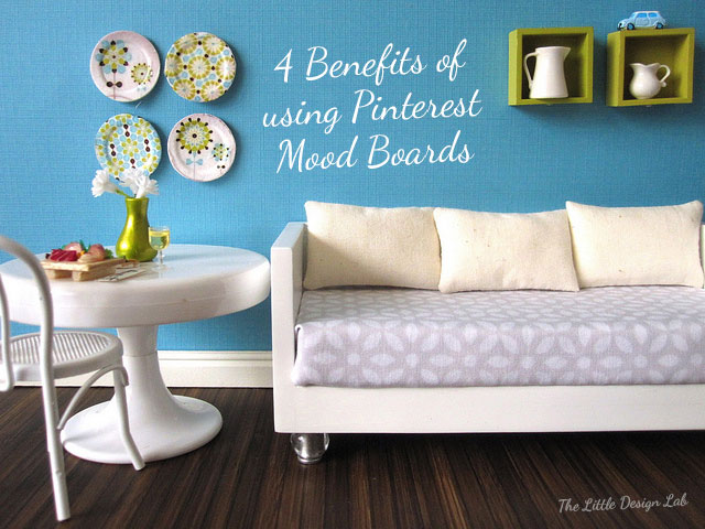 4 Benefits of using Pinterest Mood Boards