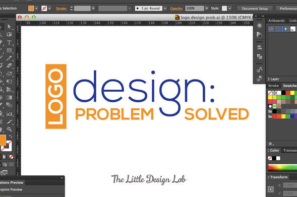 Logo design: problem solved